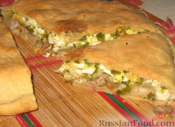 Пироги открытые в духовке рецепты простые и вкусные