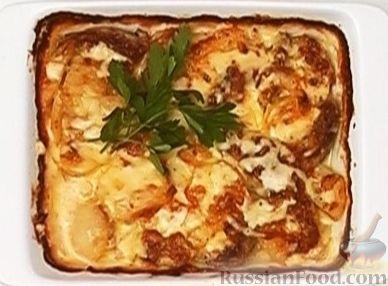 Рецепт Мясо по-французски с картофелем