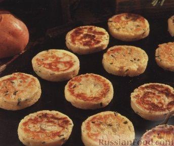 Рецепт Картофельные оладьи с луком