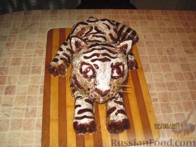 """Рецепт Торт """"Тигр"""""""