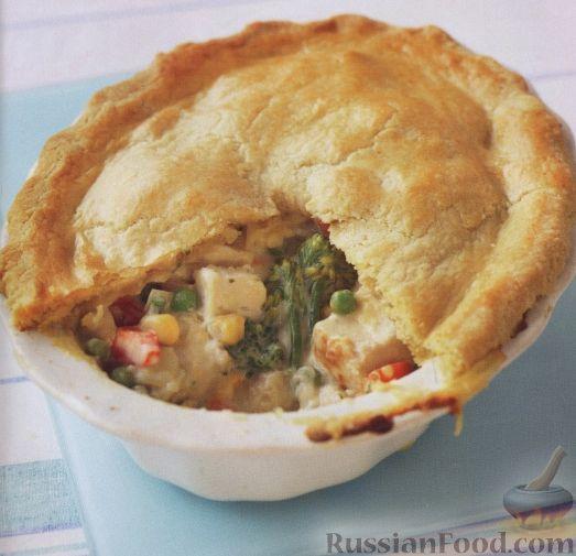 Рецепт Закрытый овощной пирог