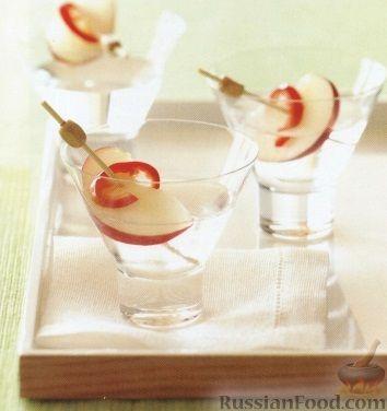 Рецепт Джин с персиком и чили