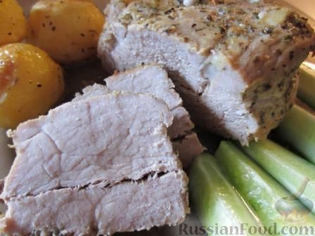 Рецепт Буженина в горчичном маринаде