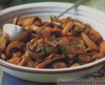 Рецепт Осьминожки с картофелем