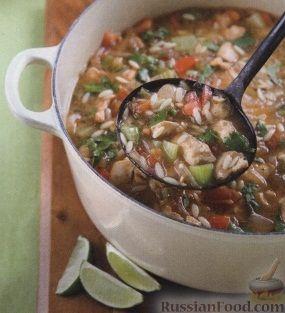 суп с куриным филе и лапшой рецепт
