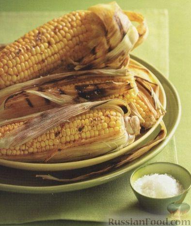 Рецепт Пряная кукуруза, жаренная на гриле