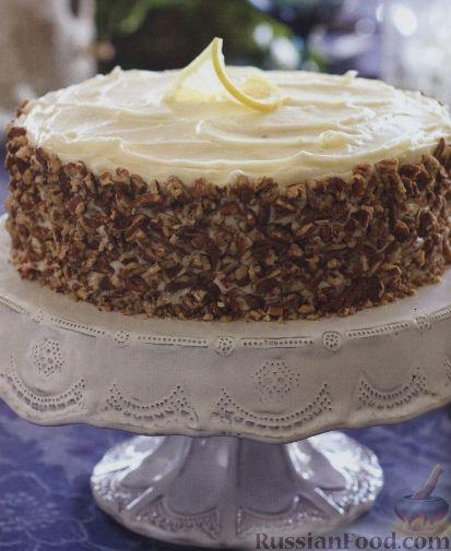 Рецепт Морковно-имбирный торт