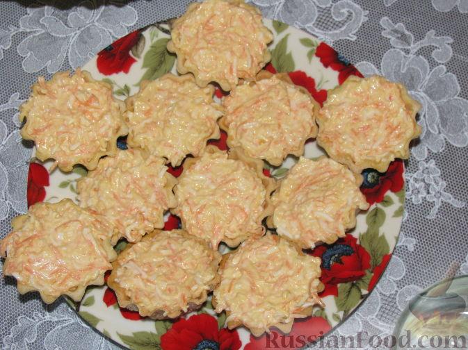 холодные закуски рецепты тарталетки