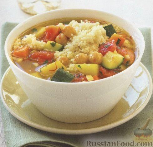 Рецепт Овощное рагу с кус-кусом