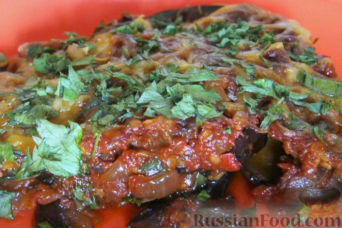Рецепт Баклажаны в духовке по-гречески