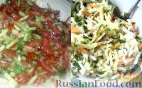 Фото к рецепту: Овощные салатики