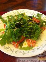 Фото к рецепту: Салат из рукколы