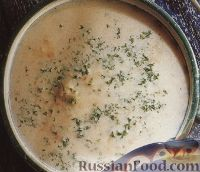Фото к рецепту: Рыбный суп-пюре