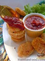 Фото к рецепту: Овощные котлеты с томатным чатни (индийской приправой)