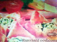 Фото к рецепту: Пирожки с помидорами