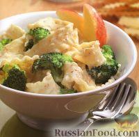 Фото к рецепту: Папарделле с брокколи в сливочном соусе