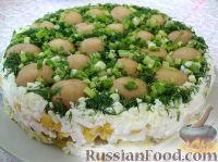 """Фото к рецепту: Салат """"Лесная полянка"""""""