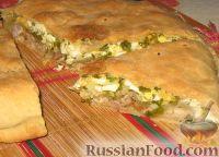 Фото к рецепту: Пирог с двойной начинкой
