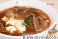 Фото к рецепту: Грибной суп с грибной лапшой