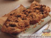 Фото к рецепту: Плоский картофельный хлеб с луком и сыром