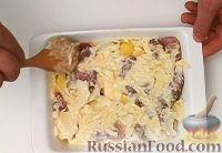 Фото приготовления рецепта: Мясо по-французски с картофелем - шаг №7