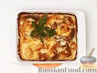 Фото приготовления рецепта: Мясо по-французски с картофелем - шаг №8
