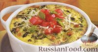 Фото к рецепту: Запеканка из шпината с соусом песто