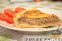 """Фото к рецепту: Пирог """"Грибной жульен"""""""
