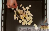 Фото приготовления рецепта: Салат «Цезарь» с курицей - шаг №5