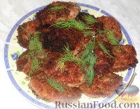 Фото к рецепту: Колбасные котлетки