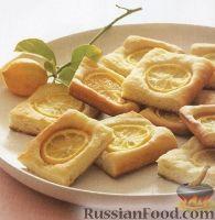 Фото к рецепту: Хлебные коржики с лимоном и солью