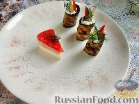 Фото к рецепту: Баклажаны жареные, с начинкой из сыра фета