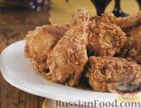 Фото к рецепту: Курятина во фритюре