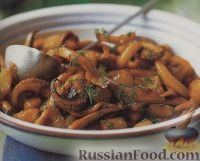 Фото к рецепту: Осьминожки с картофелем