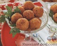 Фото к рецепту: Рыбные шарики
