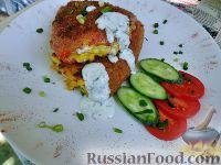 Фото к рецепту: Чушки бурек (фаршированный перец)