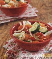 Фото к рецепту: Овощной маринованный салат