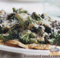 Фото к рецепту: Брокколи, запеченная с куриным филе