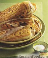 Фото к рецепту: Пряная кукуруза, жаренная на гриле