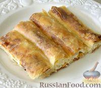 Фото к рецепту: Пита с сыром (тиропита)