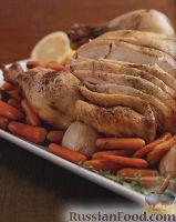 Фото к рецепту: Курица, приготовленная в медленноварке с овощами