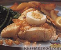 Фото к рецепту: Хек с картофелем и зеленью