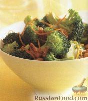Фото к рецепту: Брокколи в апельсиновом соусе