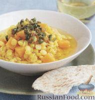 Фото к рецепту: Гороховый суп с тыквой