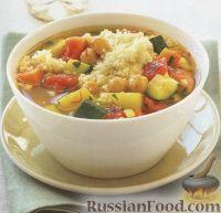 Фото к рецепту: Овощное рагу с кус-кусом