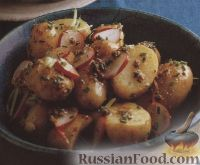 Фото к рецепту: Картофельный салат с редисом