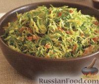 Фото к рецепту: Жареная брюссельская капуста с мясом