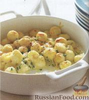 Фото к рецепту: Ньоки с сырной начинкой