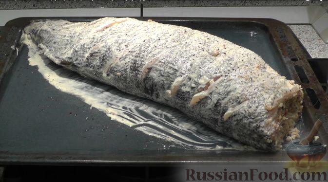видео фаршированная щука запеченная в духовке