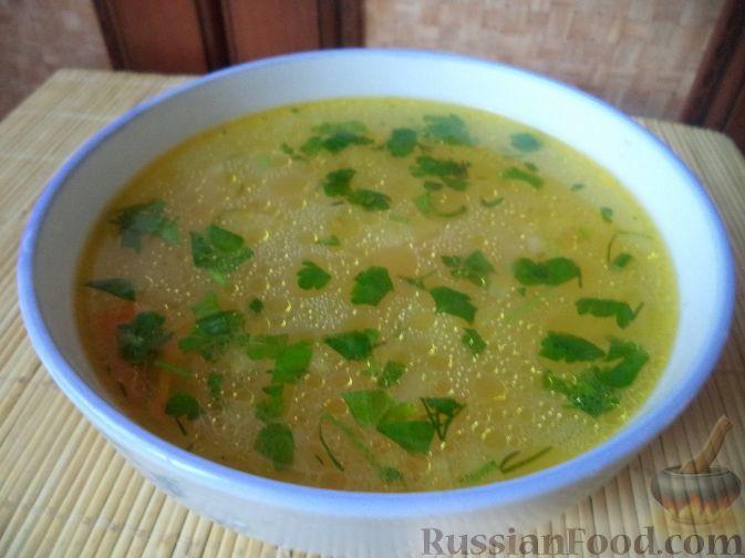 картофельный суп рецепт на бульоне